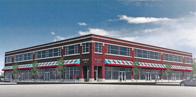 Rendering of the building. (MOLO Village / Via Metro Louisville)