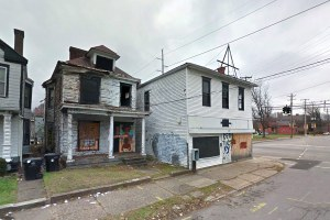 The corner looks bad today, but that doesn't mean it can't be saved. (Google Street View)