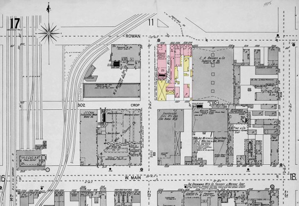 The area in 1905. (Courtesy KYVL)