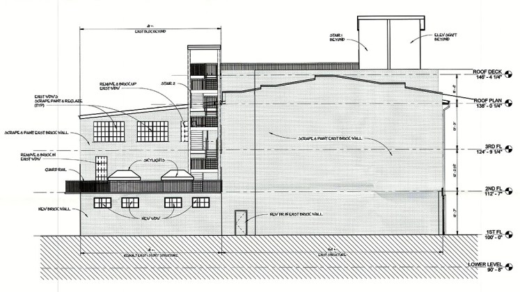 Building elevation. (Joseph & Joseph Architects)