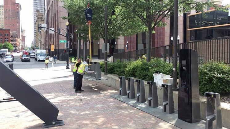 Adding a bike share station at the Belvedere entrance. (Rolf Eisinger)