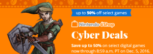 nintendo cyber deals