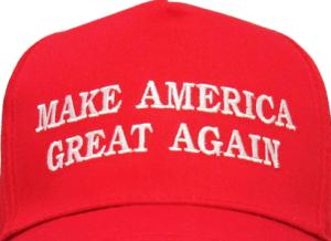 trump slogan hat