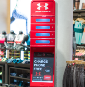 under armour charging station