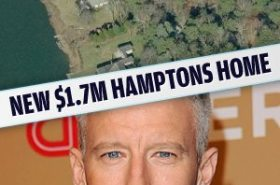 Anderson Cooper buys $1.7M Hamptons home
