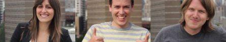 Nestio Founders: Caren Maio, CEO/Co-founder | Matt Raoul, CCO/Co-founder | Mike-O'Toole, CTO/Co-founder