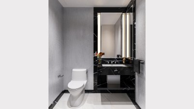 Powder Room, One Waterline Square. Credit: WaterlineSquare.com