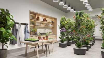 Indoor Gardening Room. Credit: WaterlineSquare.com