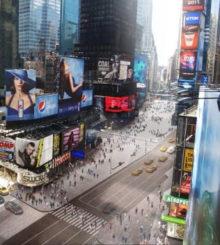 Times Square Reconstruction | Image Credit: Snohetta.com