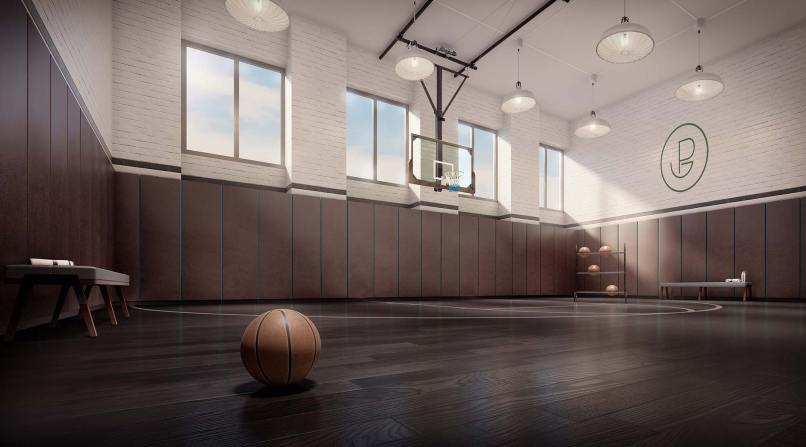 The Greenpoint - Basketball Court | Photo Credit: thegreenpoint.nyc