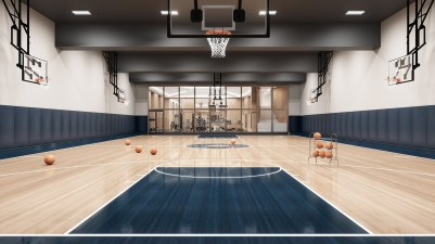 Waterline Square - Basketball Court | Photo Credit: waterlinesquare.com