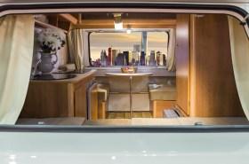 In a caravan