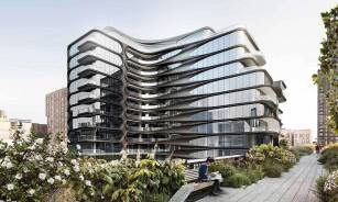 520 West 28th Street, also known as the Zaha Hadid Building, is located in New York City. Designed by the architect Zaha Hadid, the building was her only residential building in New York and one of her last projects before her death. Image credit: Zaha Hadid Architects