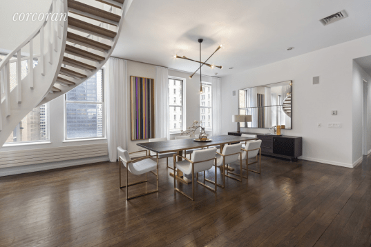 114 Liberty St. Penthouse's Terrace (approx 3,500 sf). Photo credits Michael Weinstein, MW Studio and James Chororos, Interior Marketing Group.