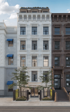 Renderings of 39 East 72nd Street via Douglas Elliman