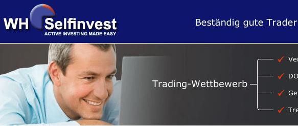 WHSelfinvest Trader Wettbewerb: mit Demokonto Echtgeld gewinnen