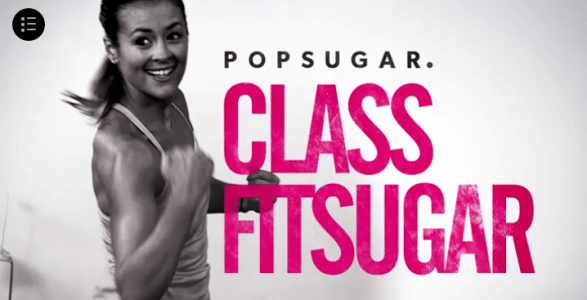 Workout for free with PopSugar Fitness online videos