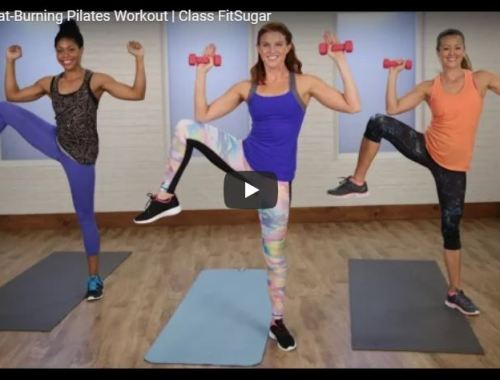 Today's Workout – Cardio Pilates Home Workout