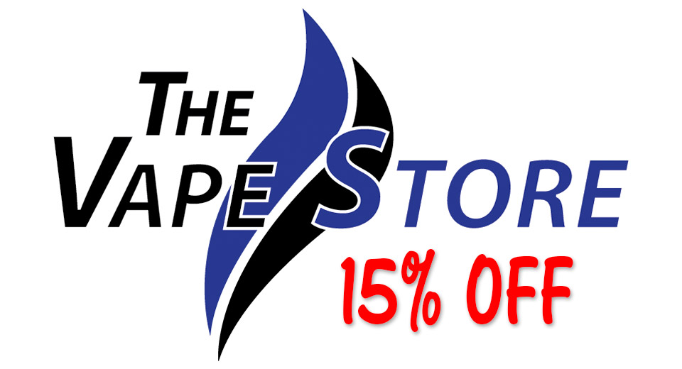 The Vape Store 15% Off Coupon