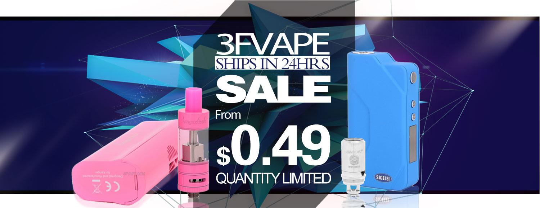 """3FVape """"Ships in 24 Hours"""" Sale"""