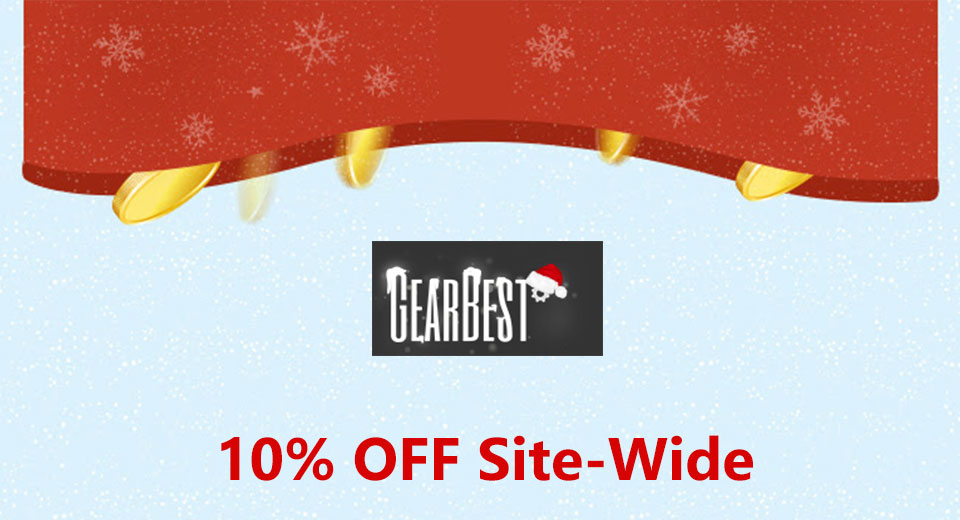 GearBest 10% Off Entire Order