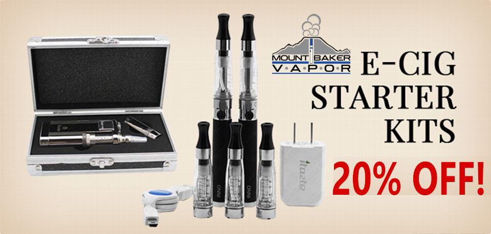Mount Baker Vapor Starter Kit Sale