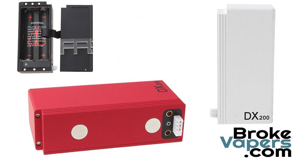 Hotcig DX200 Dual 18650 Box