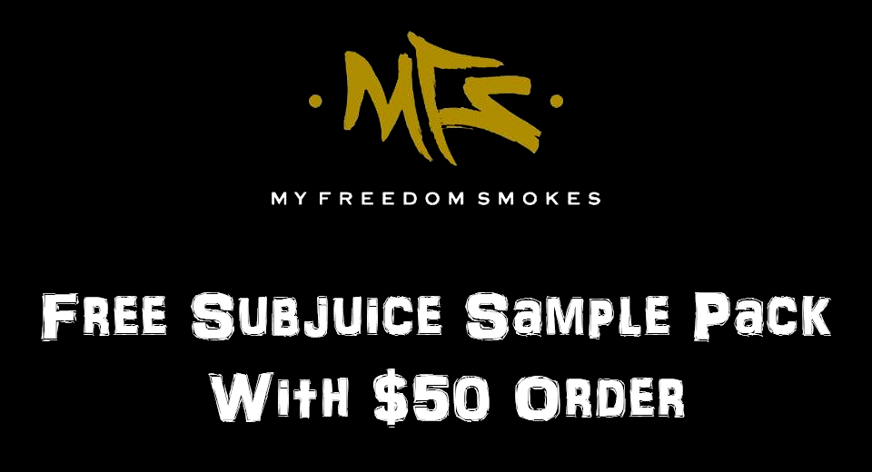 Free Subjuice Sample Pack With $50 Order