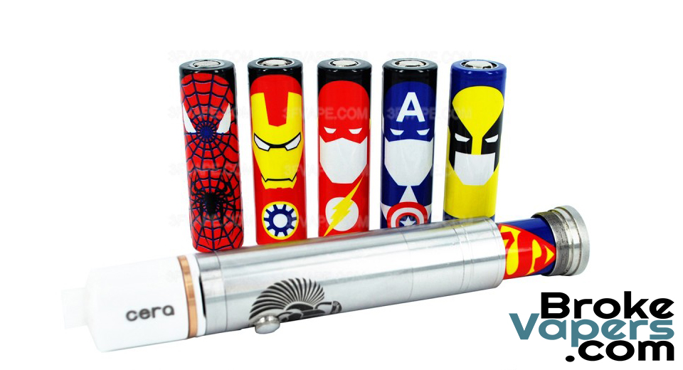 Superhero Battery Wraps