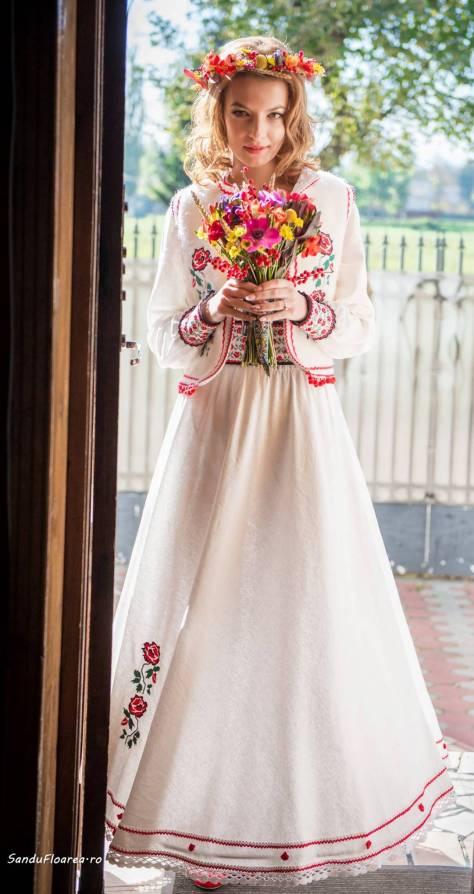 rochie nunta popular