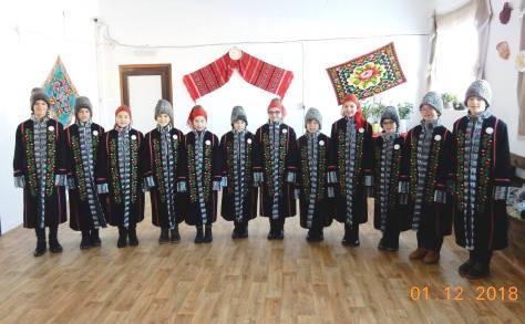 palton traditional romanesc ansamblu copii