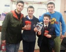 Josh, Liam, Lewis and Martyn