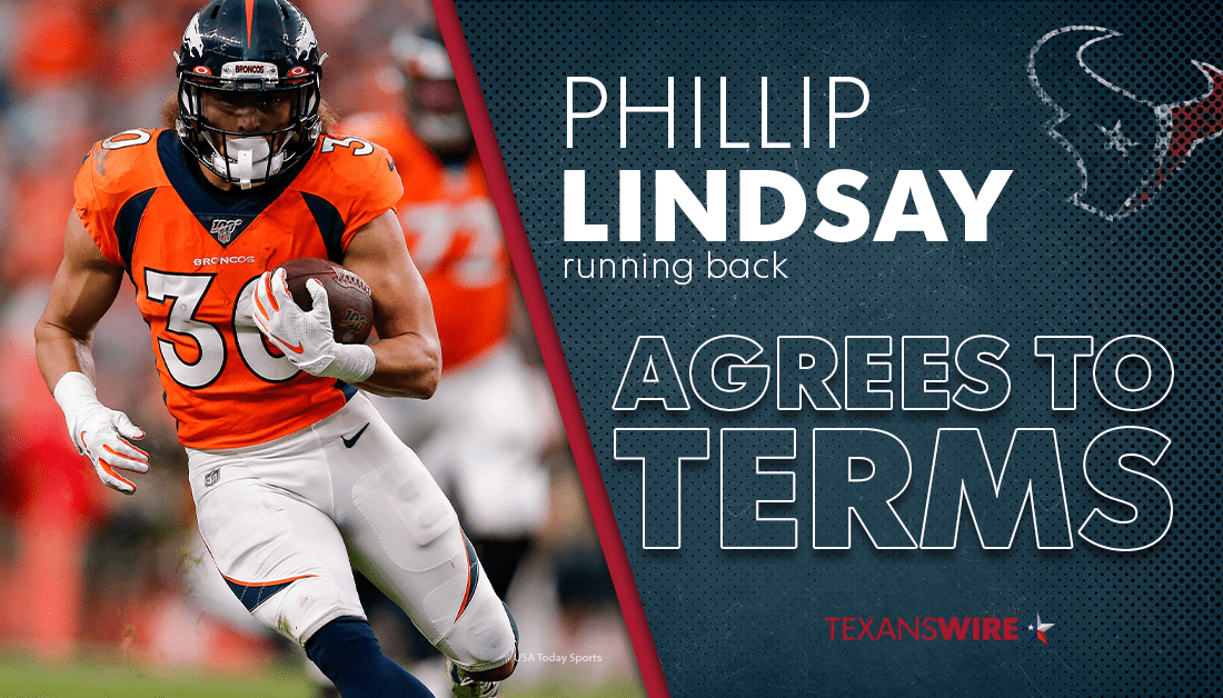 Denver Broncos: What will the Houston Texans pay Phillip Lindsay?