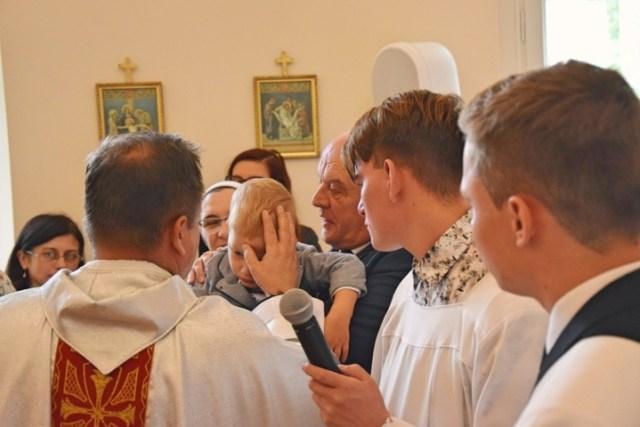 Chrzest Święty Oskara, Mikołaja, Macieja i Piotra