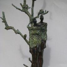 bronzen beeld Atelier de Jutteakker