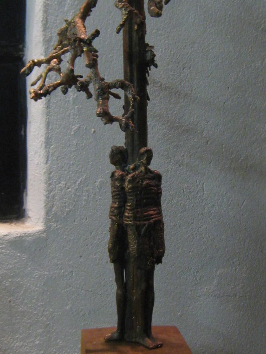 Bronzen beeld BESCHUTTING VOOR ALTIJD. UNICA