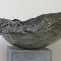 Bronzen vogeldrinkschaal. Atelier de Jutteakker