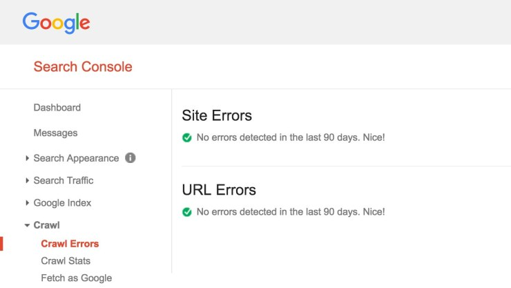 Google Web Master Tools crawl errors