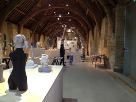 Tithe barn display
