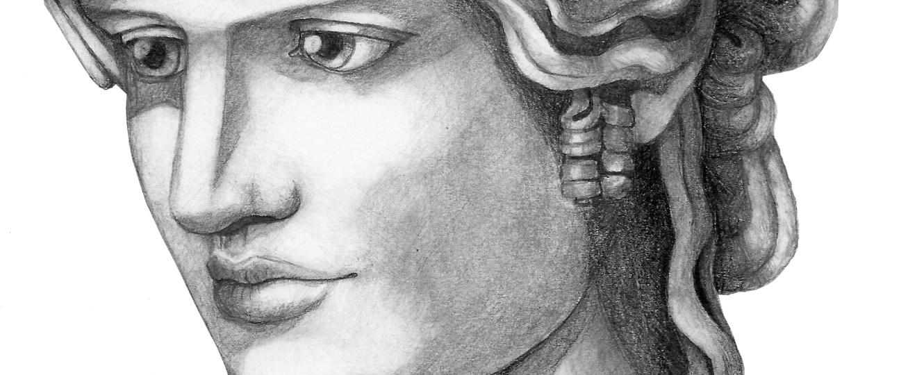 Antinous Mondragone by Bronwen MacDonald (2014)