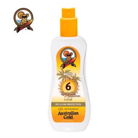 Australian Gold SPF 6 Spray Gel