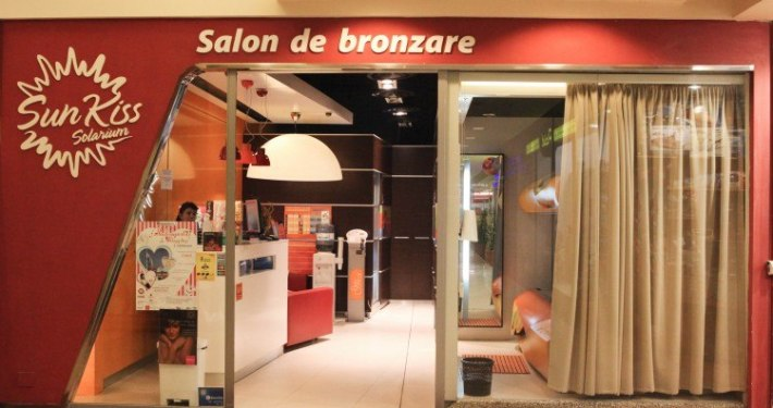 Intrare SunKiss in Iulius Mall Cluj