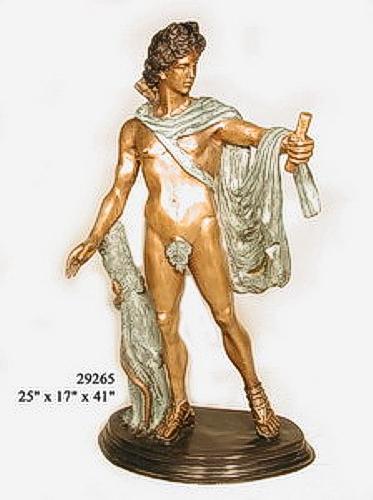 Bronze Roman Statues
