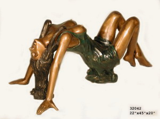 Bronze Sexy Lady Table