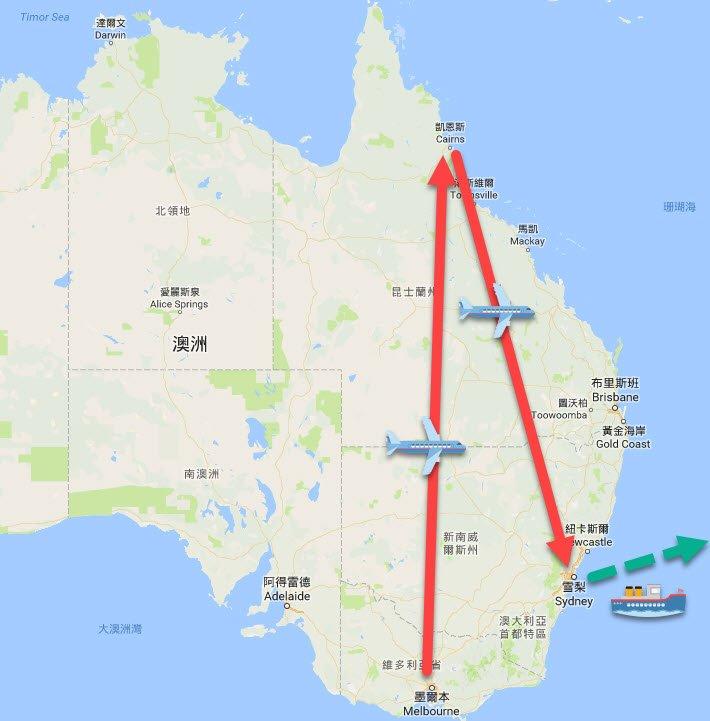 東澳自由行 - 東澳12日遊行程規畫地圖
