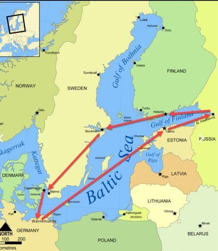 北歐波羅的海、聖彼得堡郵輪10日遊 【上】