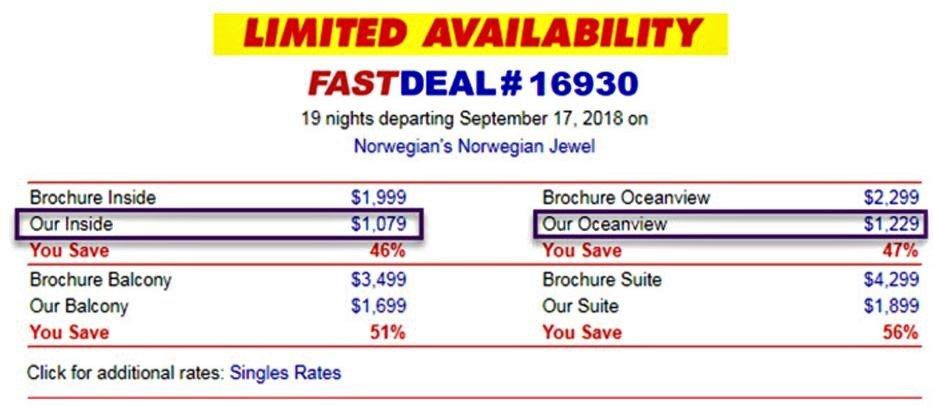 到哪裡訂郵輪最便宜? 線上郵輪網站超級比一比