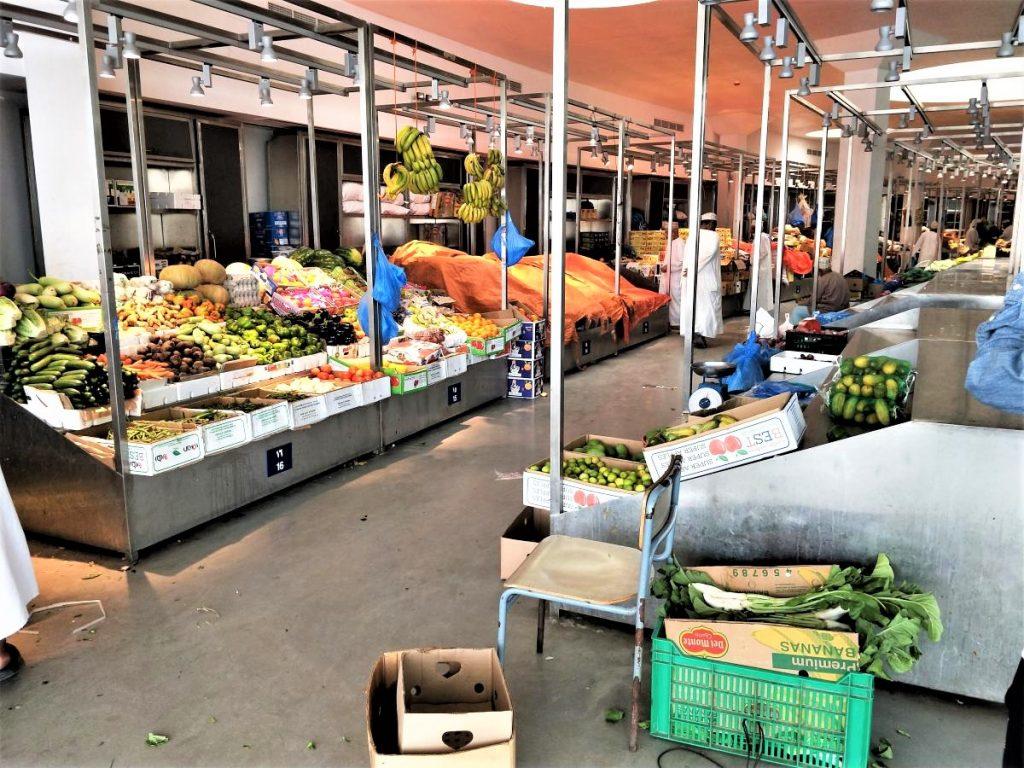 阿曼馬斯喀特一日遊 - 蔬果魚貨市場