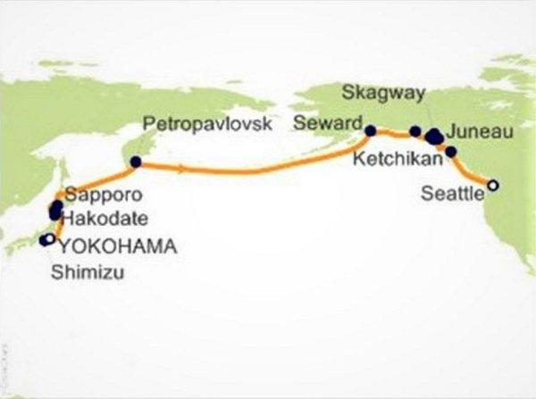 阿拉斯加郵輪港口資訊分享 由網友Anicca Sampajano提供