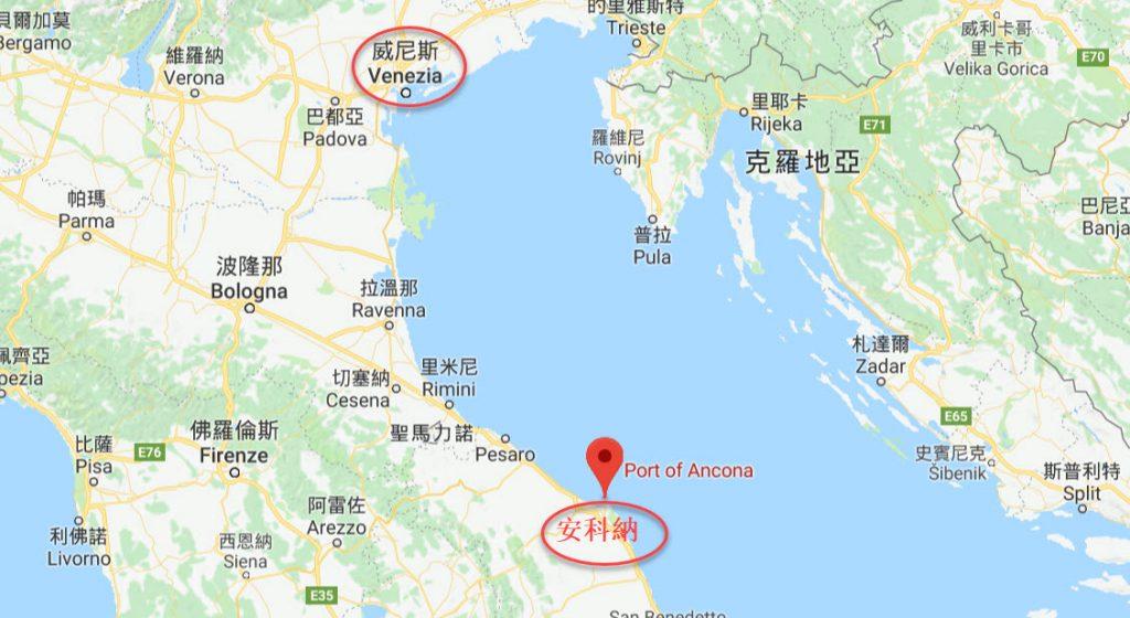 郵輪停靠義大利安科納一日遊 靠港Ancona行程建議